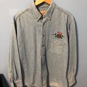 Woolrich Denim Long Sleeve Shirt